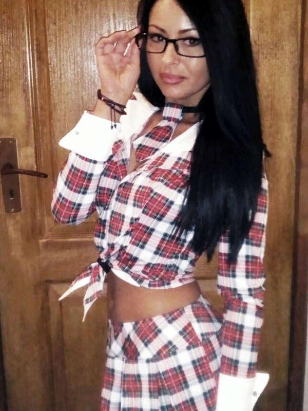 Costum Chilirose Sexy Schoolgirl