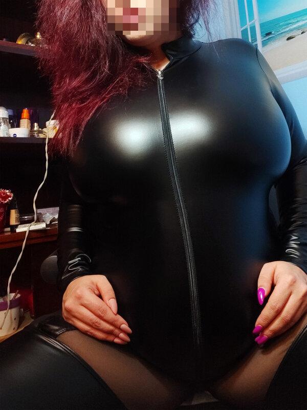 Catsuit Noir Handmade Queen