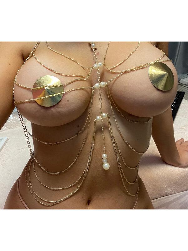 Set sexy Chilirose Body Chain model 3