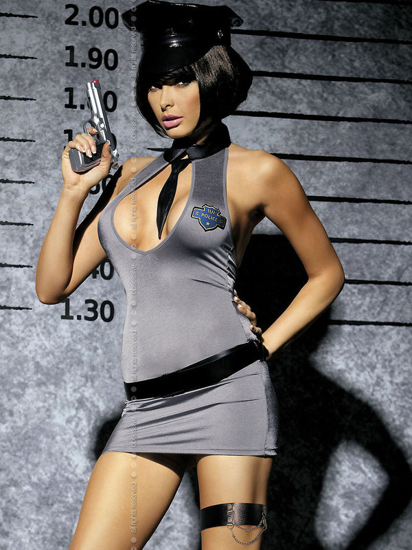 Costum Obsessive Police dress