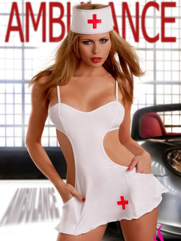 Costum Passion Nurse Dress