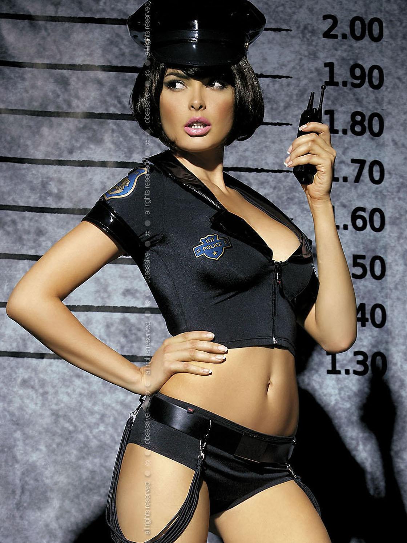 Obsessive Costum Police set Negru