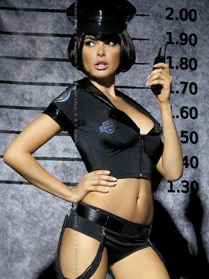 Costum Police set - Negru