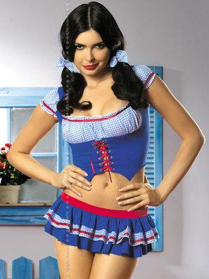 Costum Heidi - Albastru