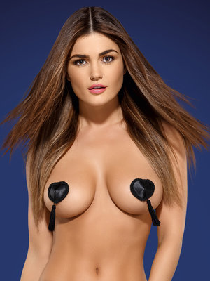 Tassel nipple covers - Negru