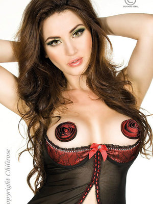 Roses nipple covers - Grena