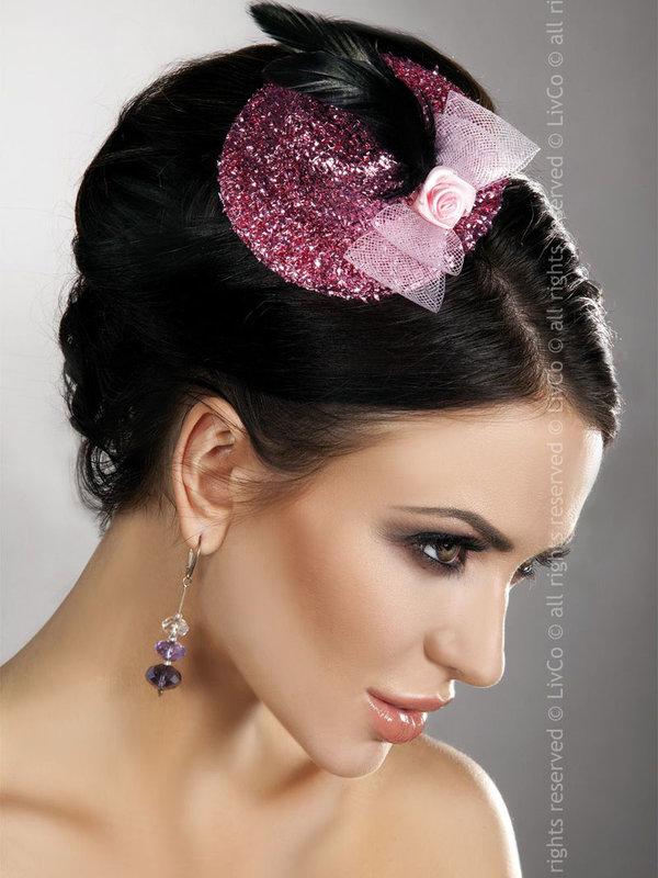 Palarie LivCo Mini Top Hat Model 14