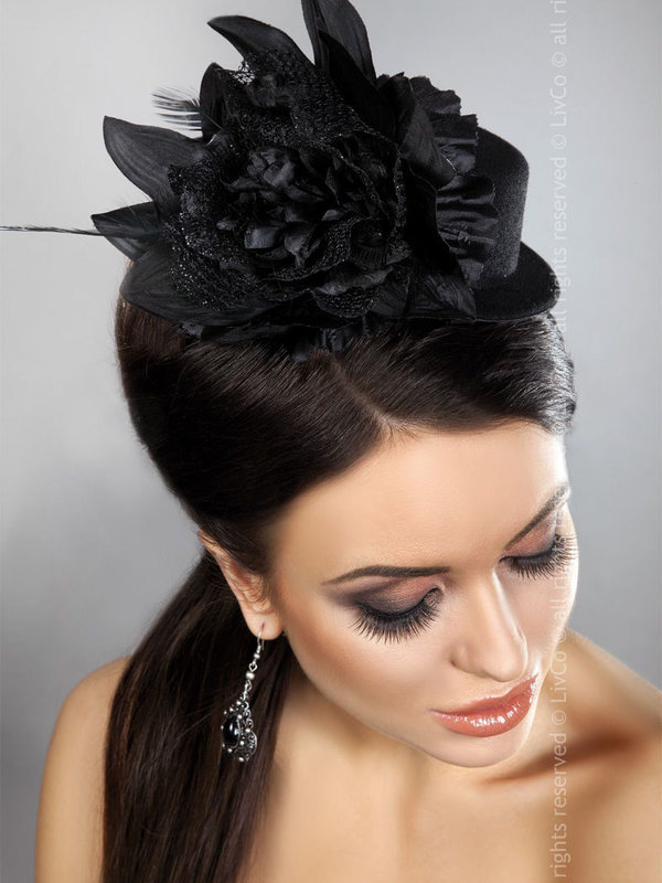 Palarie LivCo Mini Top Hat Model 22
