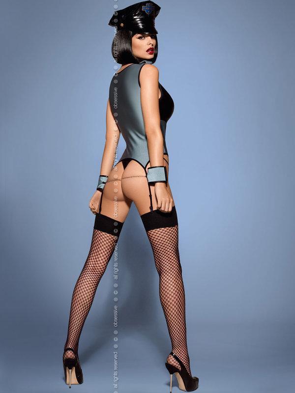 Costum Obsessive Police corset
