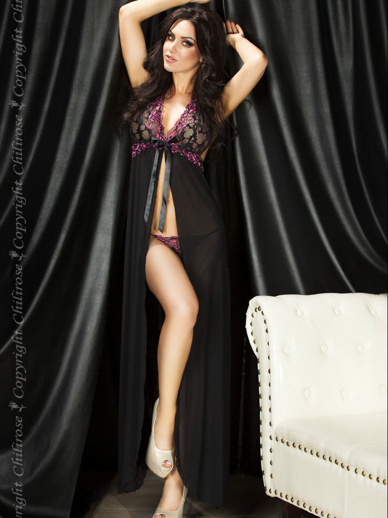 Chilirose Chemise Long Gown