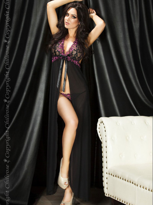 Chemise Chilirose Long Gown