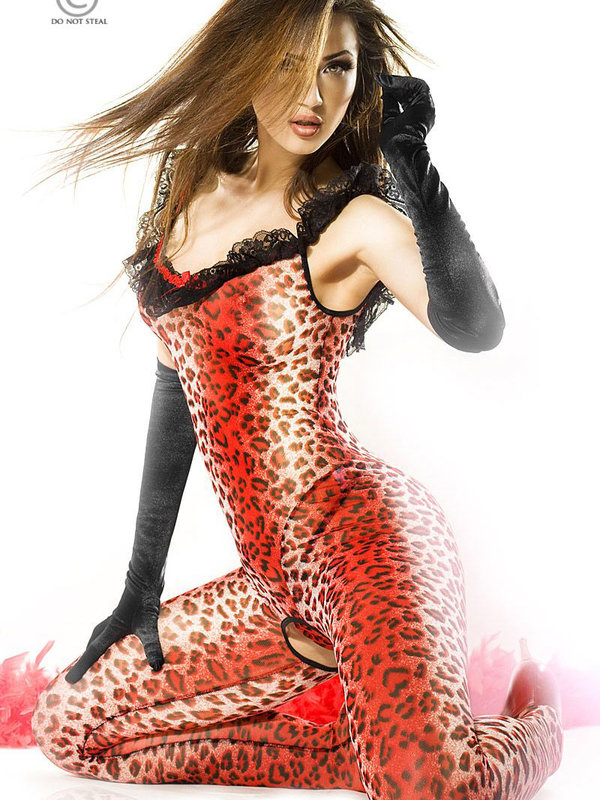 Catsuit Chilirose Panther