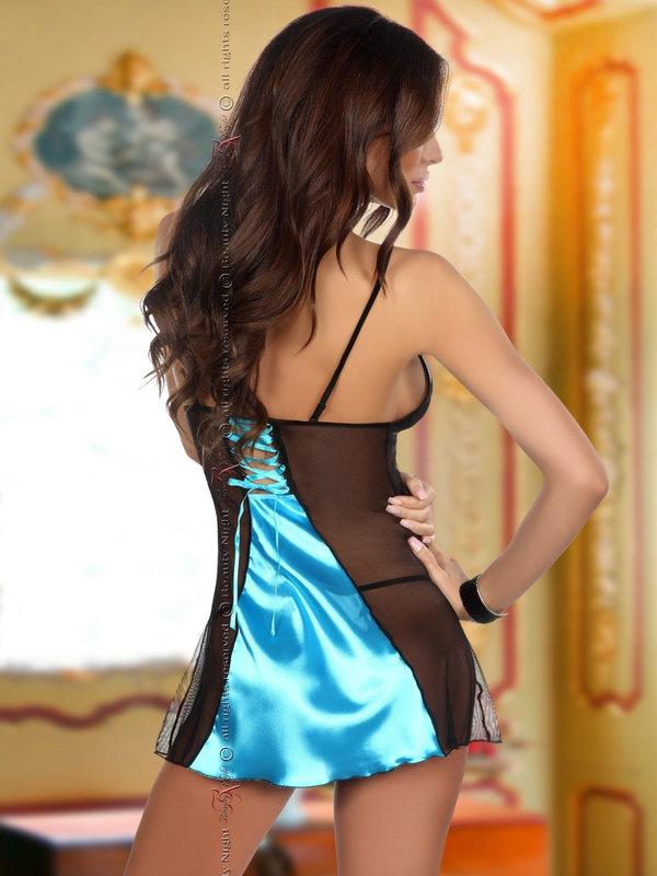 Chemise Beauty Night Michele turquoise
