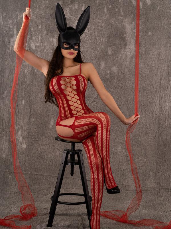 Catsuit LivCo Almas red