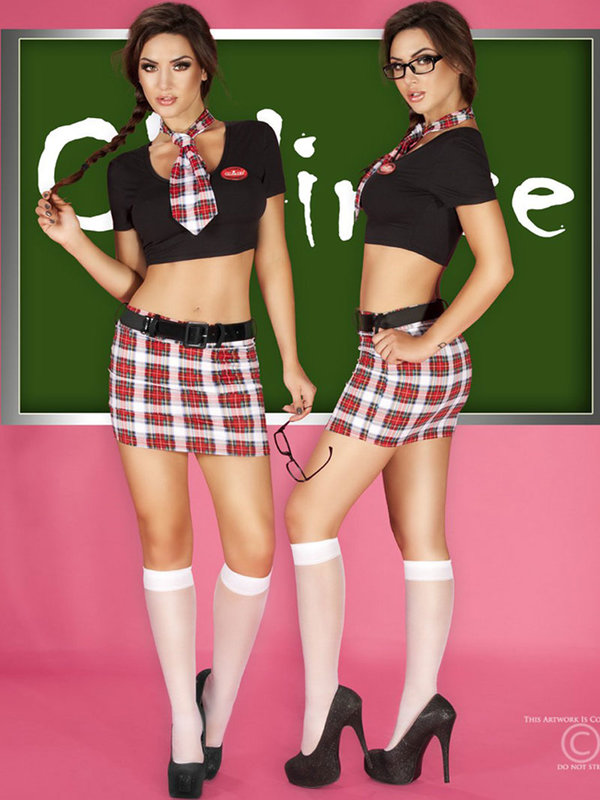 Costum Chilirose Hot Schoolgirl
