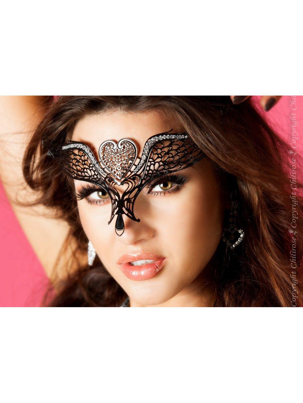 Masca Butterfly Negru de la Chilirose
