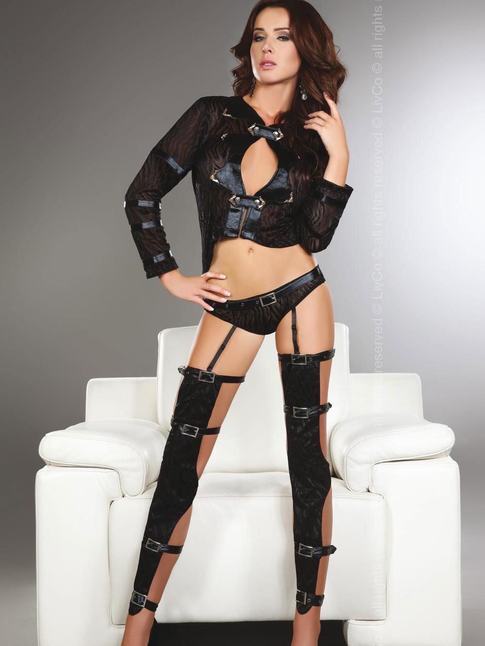 Set sexy Erna Negru de la LivCo