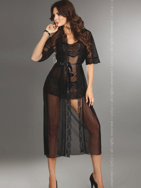 Halat LivCo Fuksja dressing gown