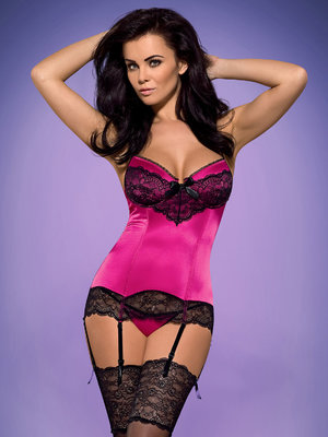 Corset Roseberry - Bordo