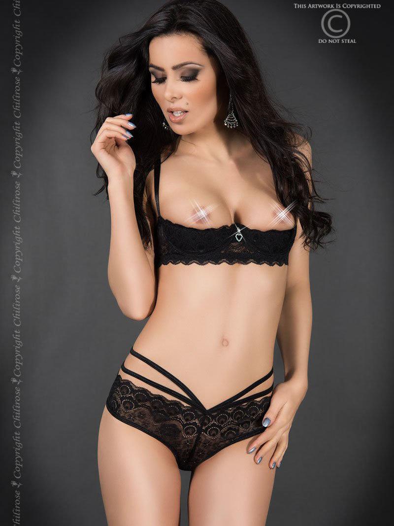 Set sexy Lorena Negru de la Chilirose