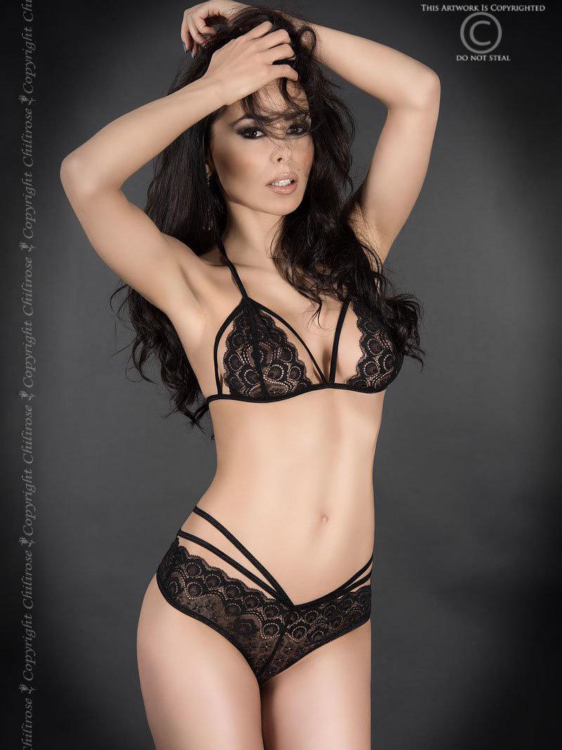 Set sexy Marina Negru de la Chilirose