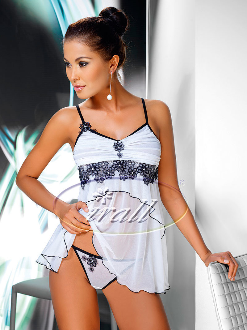 Irall Chemise Mirabelle Alb