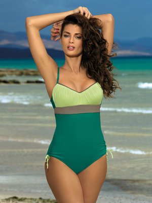 Costum de baie Whitney green - Verde