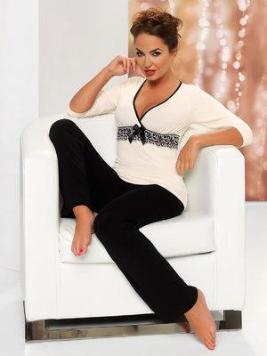 Pijama Andrea - Negru