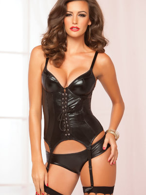 Corset Seven'til Midnight Cheeky