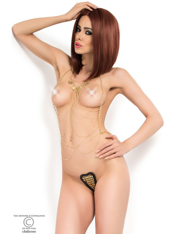Set sexy Chilirose Body Chain model 6
