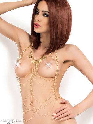 Set sexy Chilirose Body Chain model 6