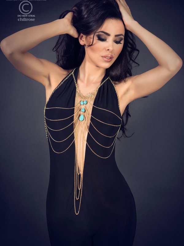 Set sexy Chilirose Body Chain model 7