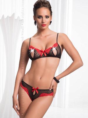 Set sexy Letizia - Negru