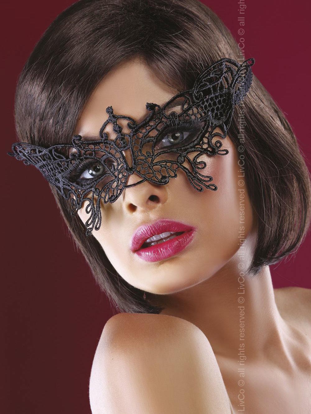 Masca Model 14 Negru de la LivCo