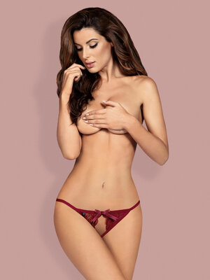 Miamor crotchless panties