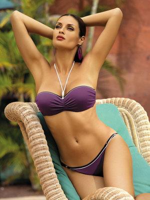 Costum de baie Andrea violet - Violet