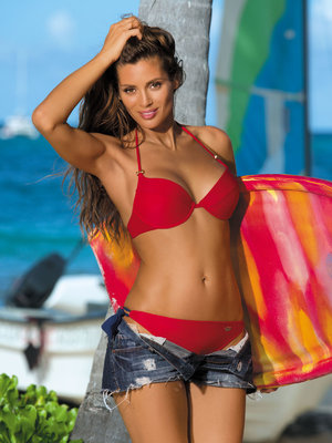 Costum de baie Stacy red - Rosu