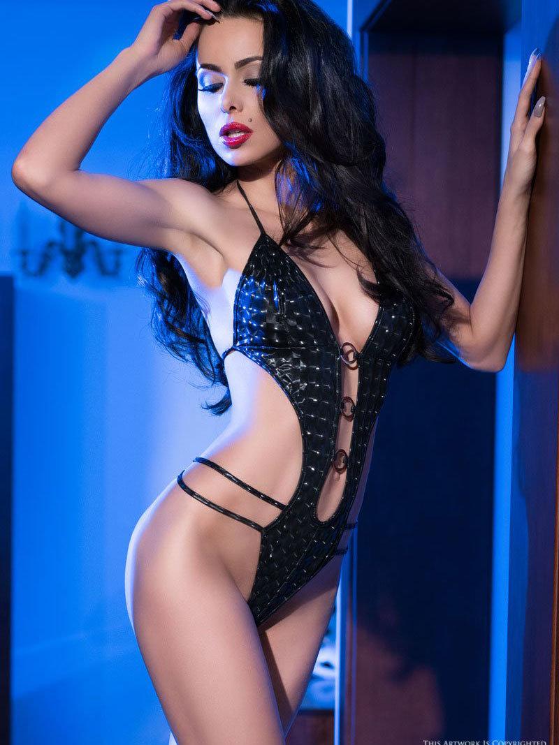 Chilirose Body Lina Negru