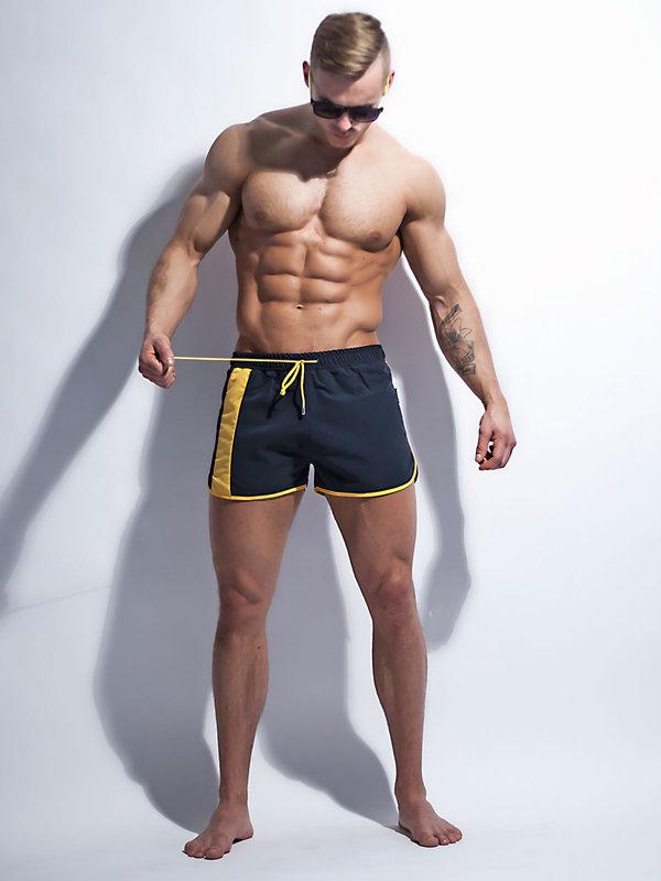 Short Alpha Male Curso black