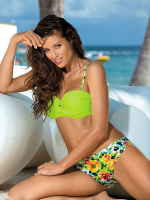 Costum de baie Marko Summer green