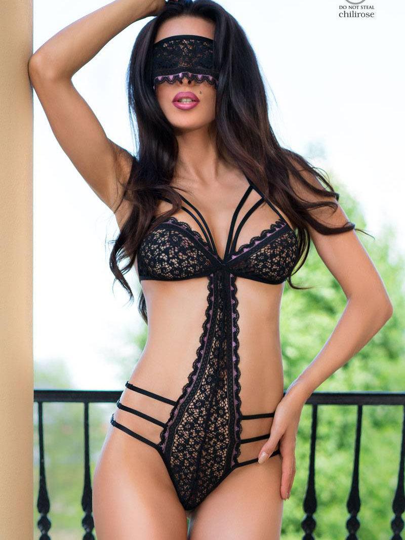 Chilirose Body Serena Negru