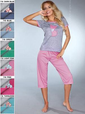 Pijama Model 718 - Roz