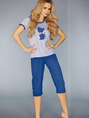 Pijama Model 718 - Albastru