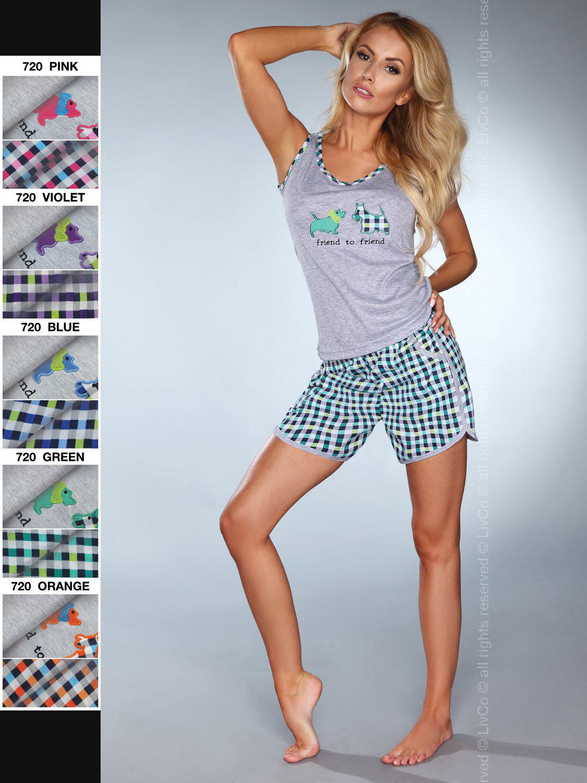 Pijama model 720 Verde