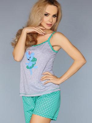 Pijama model 723/1 - Verde