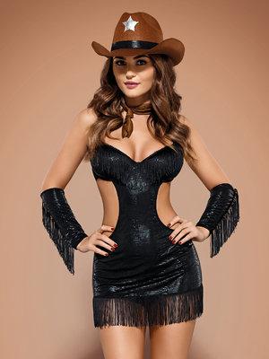 Costum Sheriffia - Negru