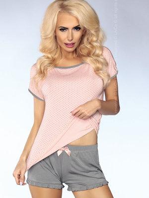 Pijama Model 103 - Roz-Gri
