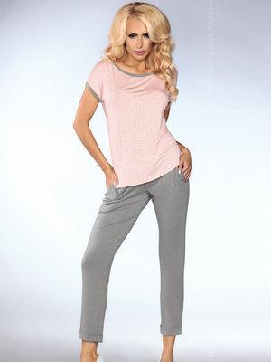 Pijama Model 101 - Roz-Gri