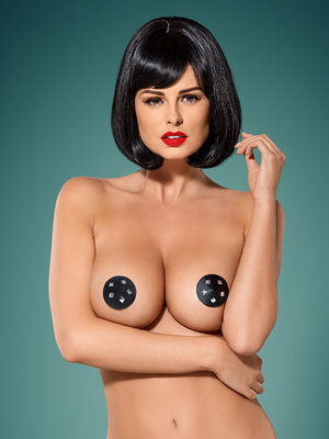Nipple covers Gretia - Negru