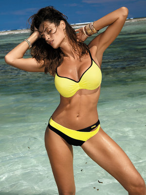 Costum de baie Jennifer yellow